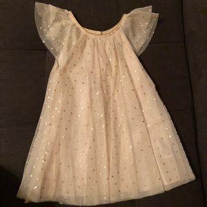 H&M flutter sleeve toddler girl dress.
